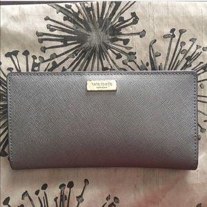 Gray Kate spade wallet